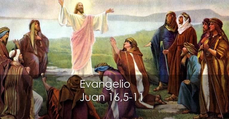 Evangelio según San Juan16,5-11.