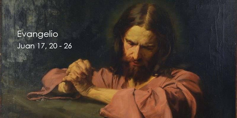 Evangelio según San Juan17,20-26.