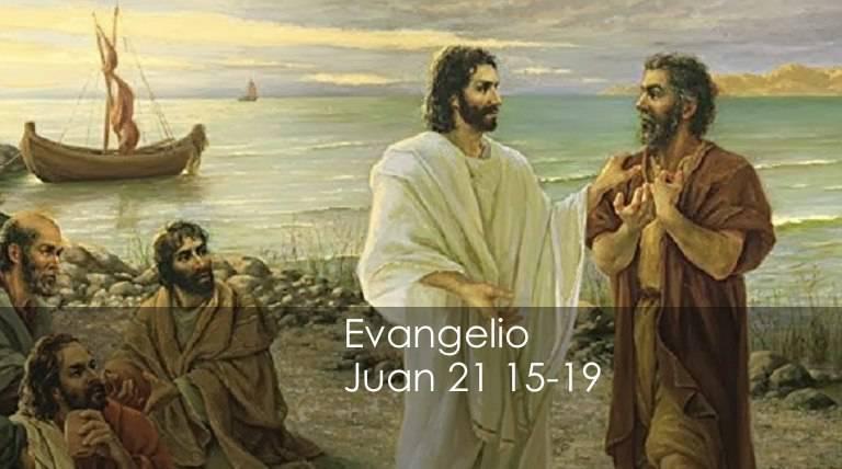 Evangelio según San Juan21,15-19.