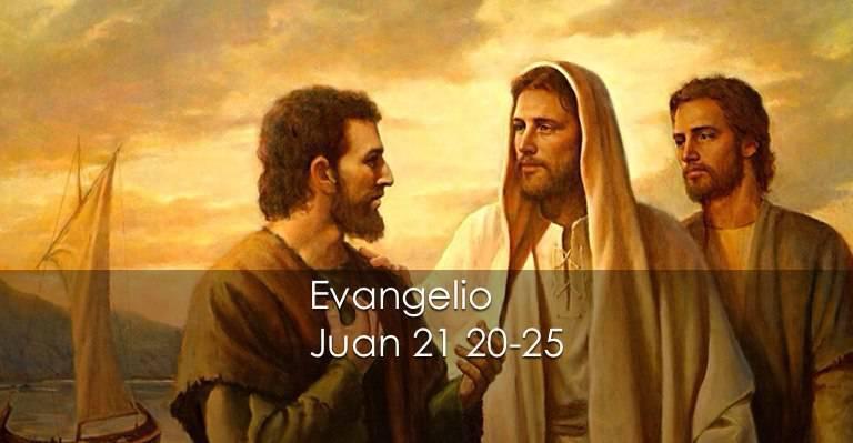 Evangelio según San Juan21,20-25.