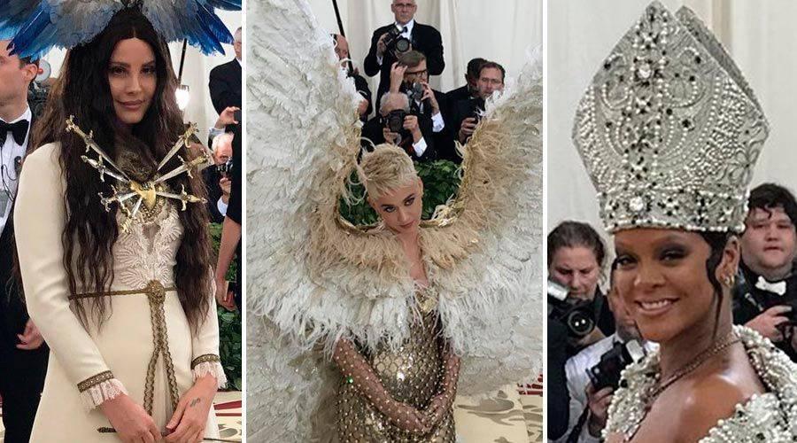 Gala del Met causa polémica por vestidos ofensivos contra la Iglesia