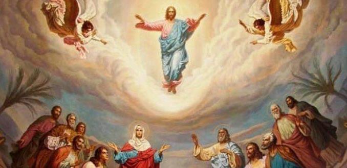 Dios asciende entre aclamaciones; el Señor, al son de trompetas