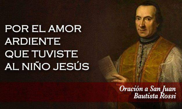Oración a San Juan Bautista Rossi