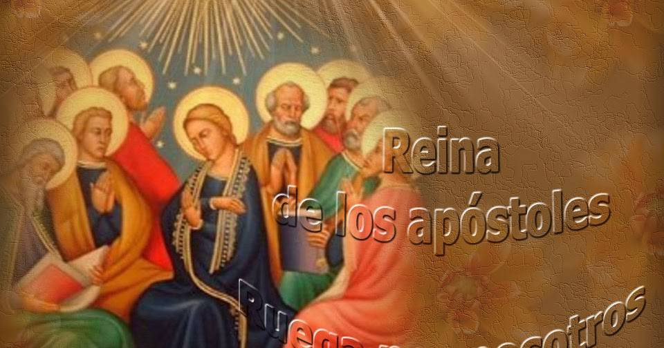 Flor del 28 de mayo: María, Reina de los apóstoles