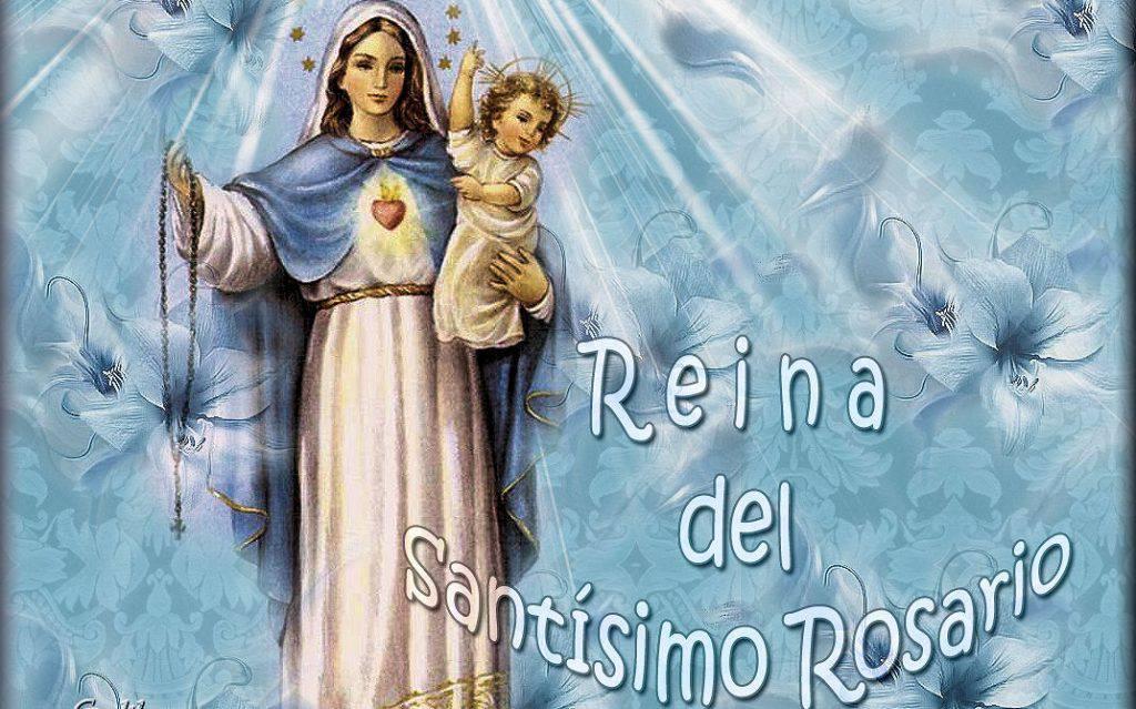 Flor del 29 de mayo: María, Reina del Santísimo Rosario