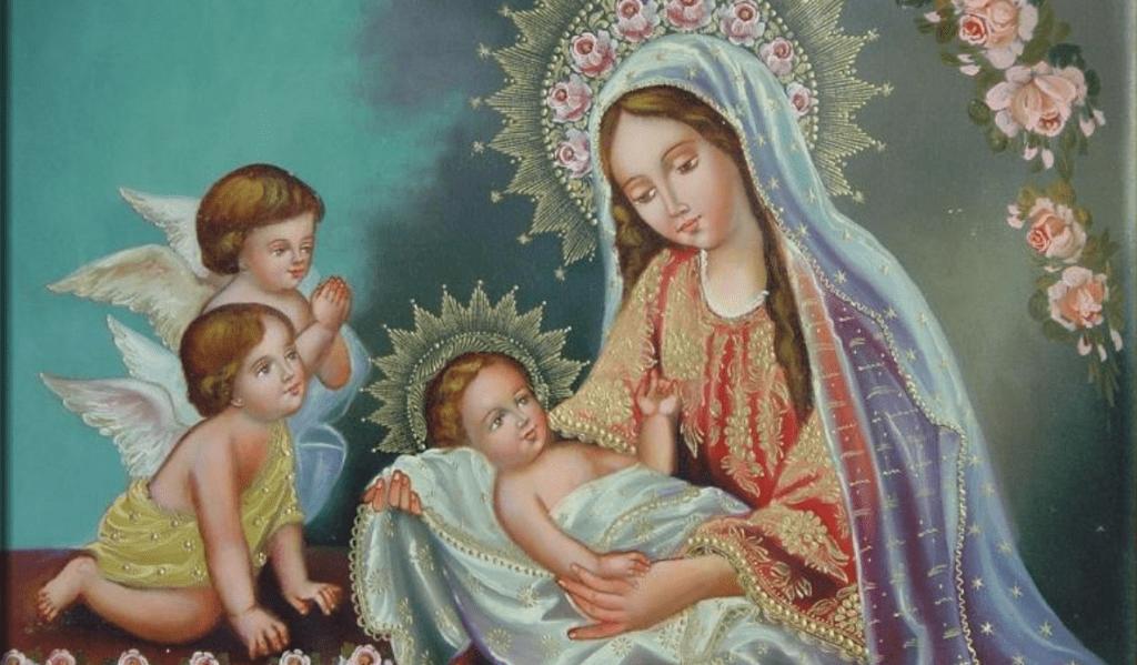 Flor del 16 de mayo: María peregrina