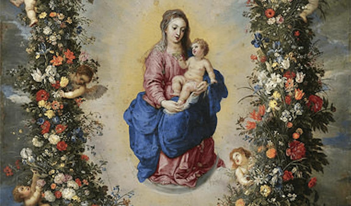 Flor del 17 de mayo: Modelo de entrega a Dios