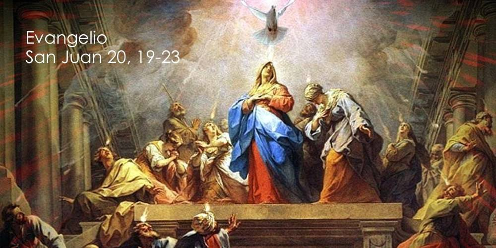 Evangelio según San Juan20,19-23.