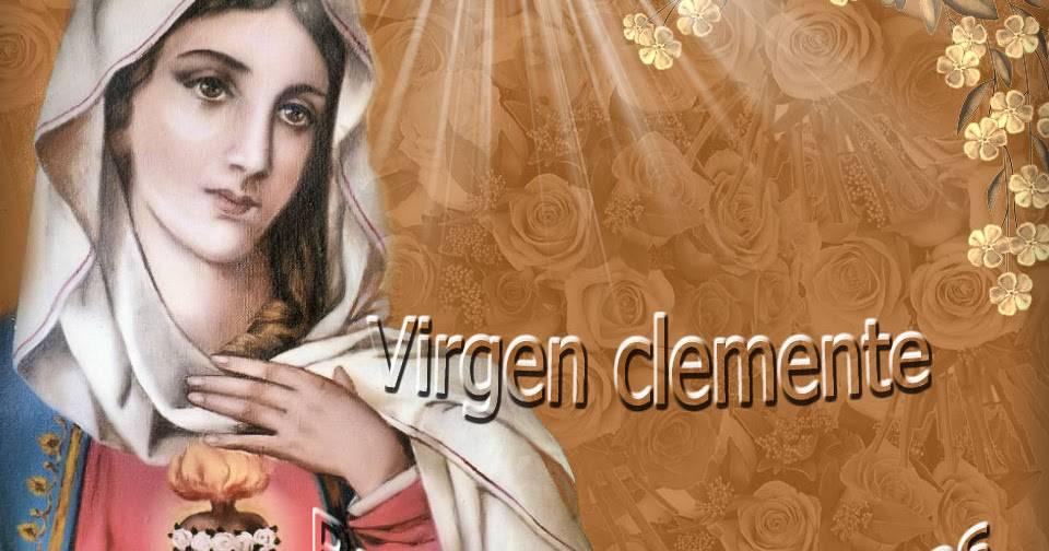 Virgen clemente