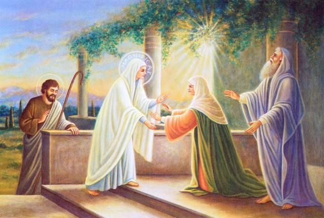 Flor del 31 de mayo: María Reina del Cielo Fiesta de la Visitación de la Virgen