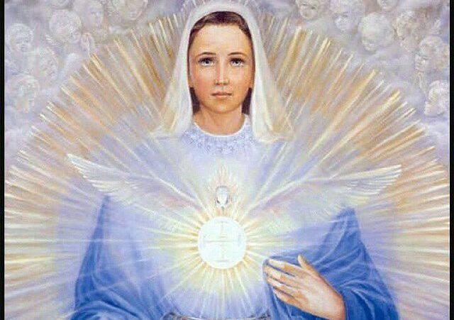 Flor del 22 de mayo: María esperando el Espíritu Santo