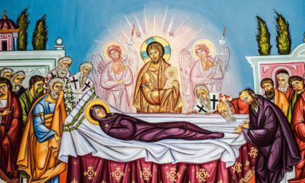 Un santo muy antiguo, cuenta así cómo fue la muerte de la Santísima Virgen.