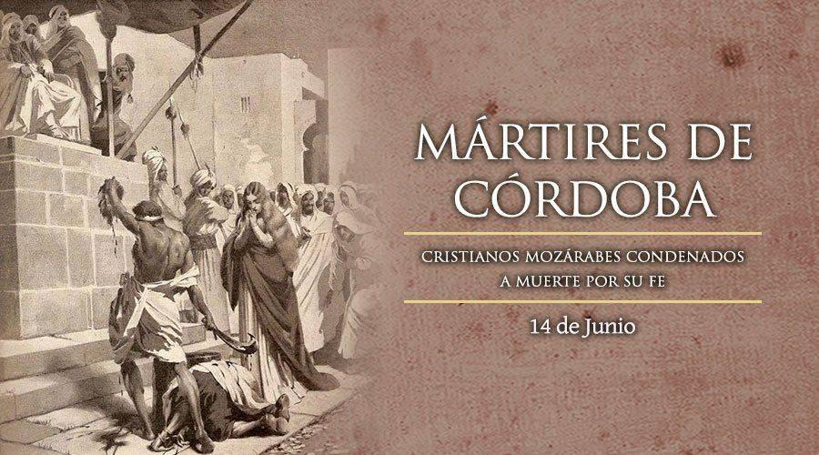 Oración a los Santos Mártires de Córdoba