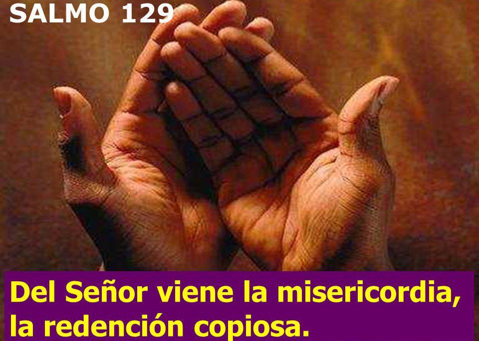 Del Señor viene la misericordia, la redención copiosa.