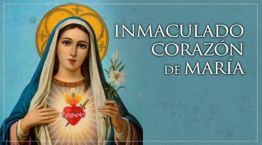 Pequeñas oraciones para rezar al Inmaculado Corazón de María