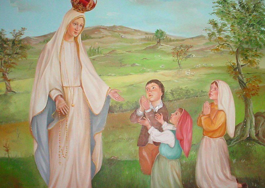 Aparición de la Virgen de Fátima del 13 de junio de 1917