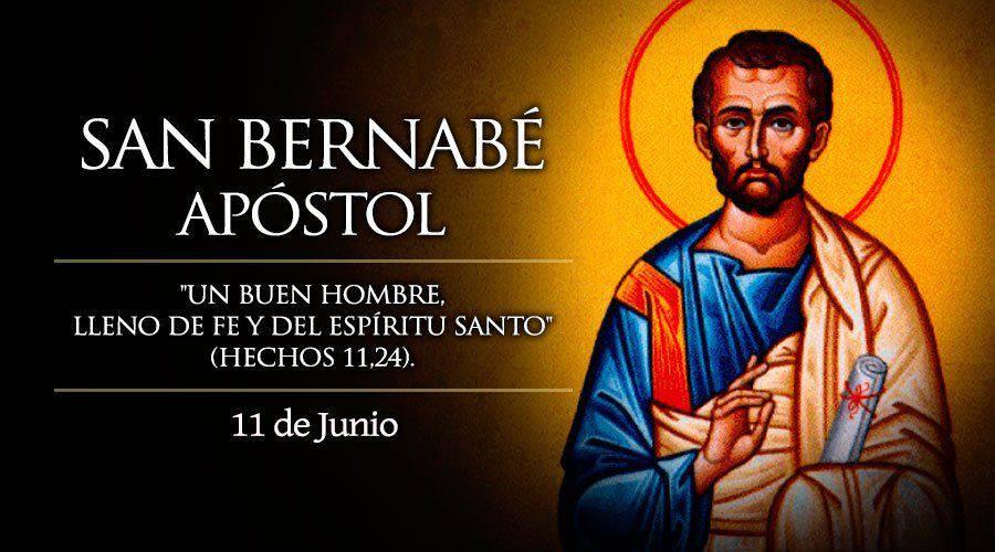 Oración a San Bernabé para ser alegres y firmes en la fe