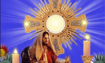 LA ORACIÓN MILAGROSA A JESUS SACRAMENTADO