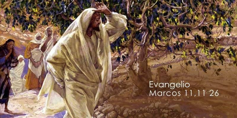 Evangelio según San Marcos11,11-26.