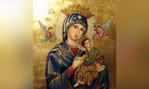 Primer Día de la Novena a Nuestra Señora del Perpetuo Socorro