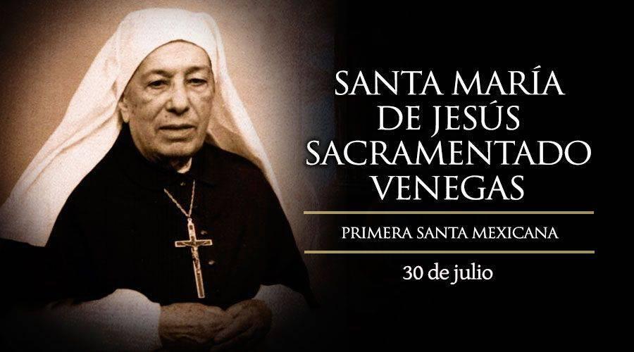 Santa María de Jesús Sacramentado