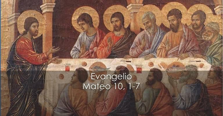 Evangelio según San Mateo 10,1-7.