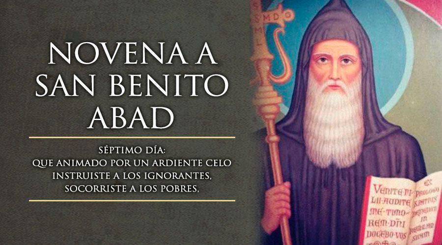 Séptimo Día de la Novena a San Benito