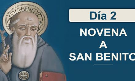 Segundo Día de la Novena a San Benito