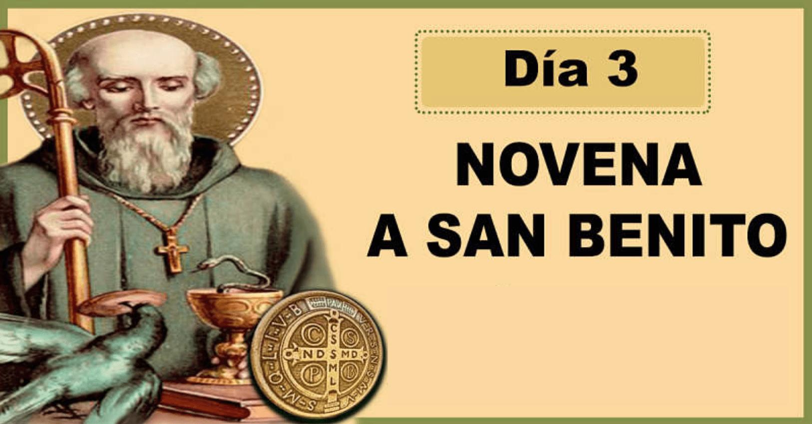 Novena a San Benito