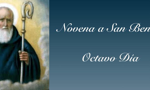Octavo Día de la Novena a San Benito