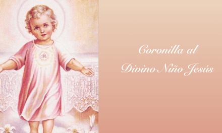 Coronilla al Divino Niño Jesús