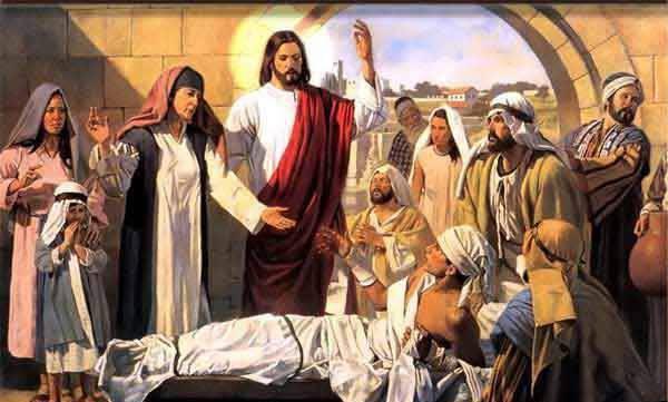 Evangelio según San Mateo 9,1-8