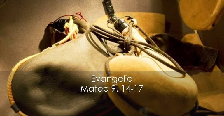Evangelio según San Mateo 9,14-17