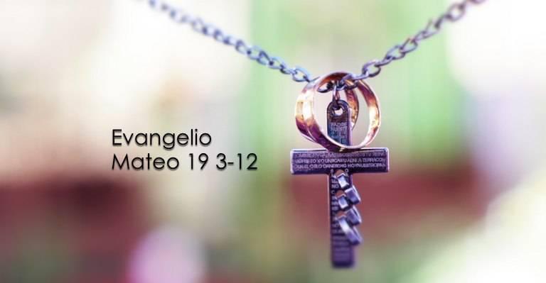 Evangelio según San Mateo 19,3-12.