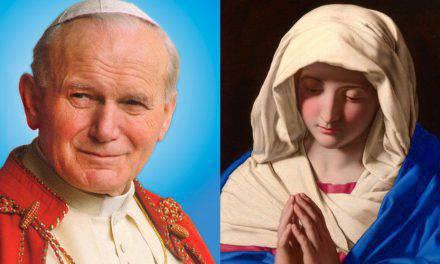 """Así explicó San Juan Pablo II la """"dormición"""" de la Virgen María"""