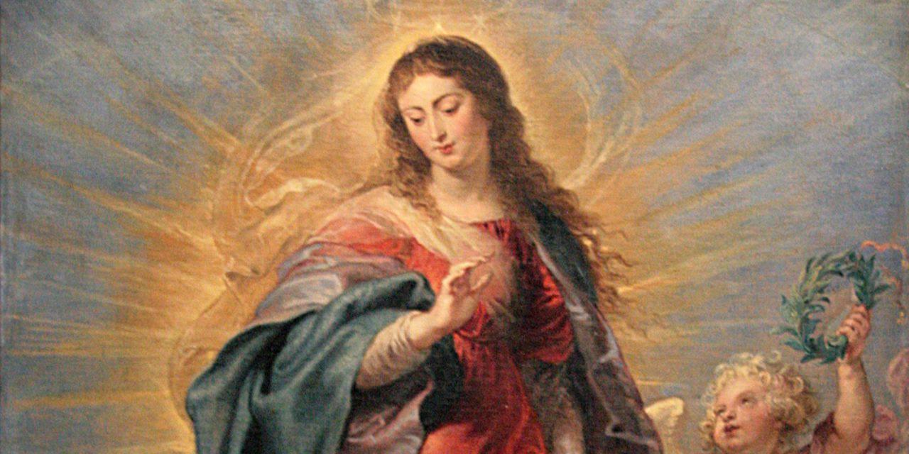 Cuarto día de la novena por la Asunción de la Virgen María