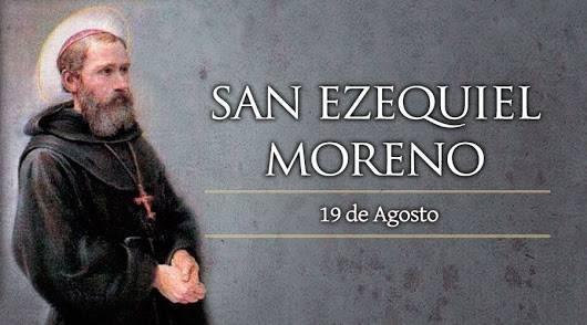 Oración por un Enfermo a San Ezequiel Moreno