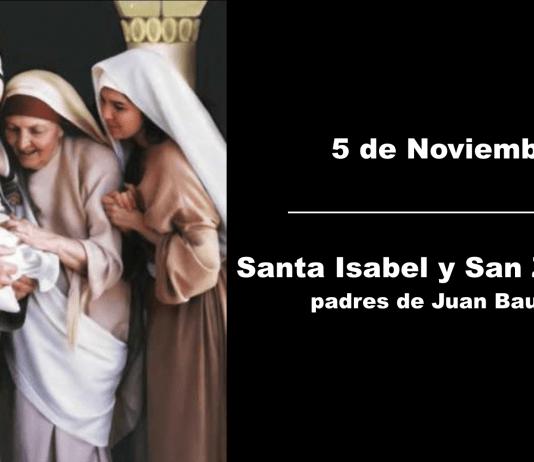 San Zacarías y Santa Isabel