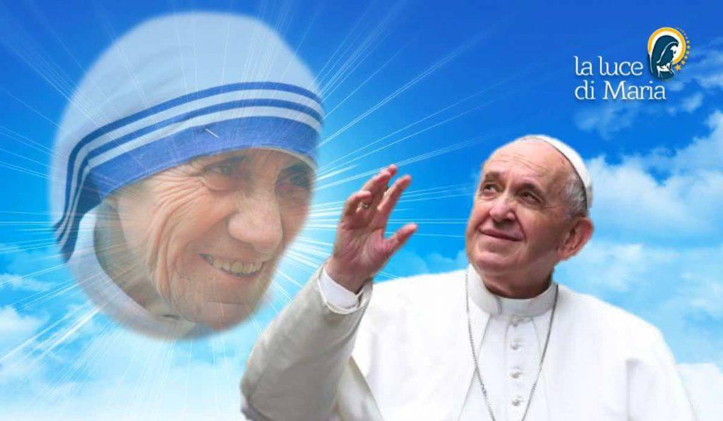 Papa Francisco - Madre Teresa Calcuta