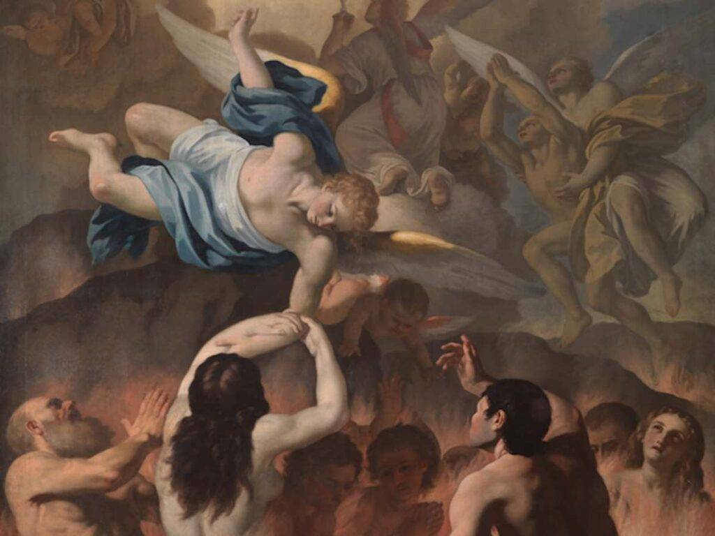 Almas del Purgatorio