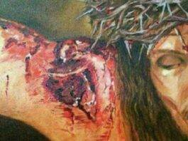 Sagrada Llaga del Hombro de Jesús