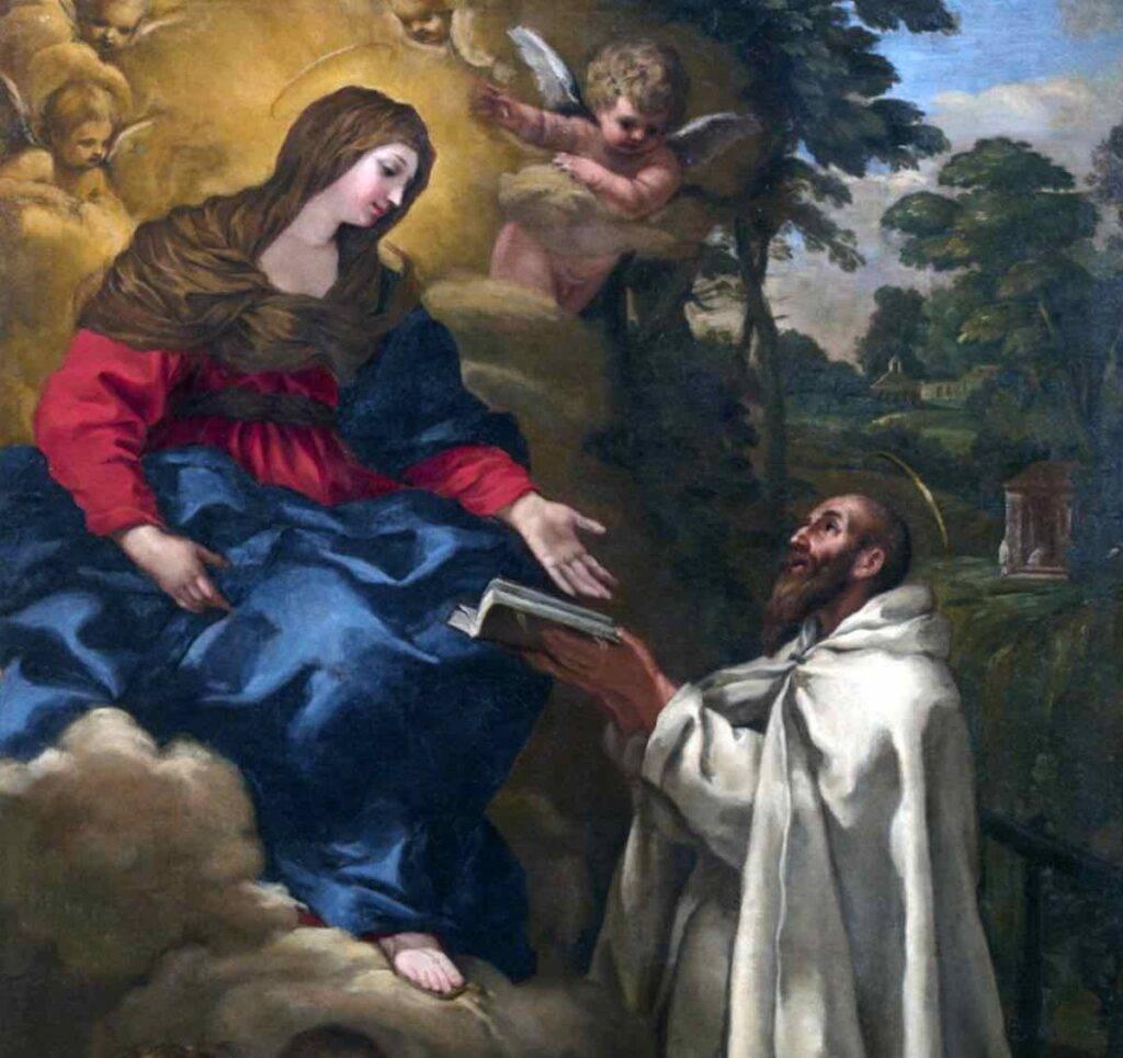 Virgen María san Pedro Damián