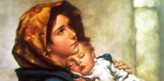 Virgen Maria Madre Oracion